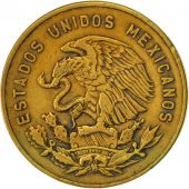 Mexico, 5 Centavos, 1968, Mexico City, EF(40-45), Brass, KM:426