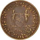 Surinam, Cent, 1966, TTB, Bronze, KM:11