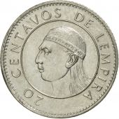 Honduras, 20 Centavos, 1991, SUP, Nickel plated steel, KM:83a.1