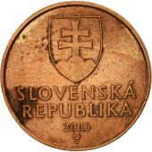 Slovaquie, 50 Halierov, 2006, TTB, Copper Plated Steel, KM:35