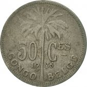 Congo belge, 50 Centimes, 1925, TTB, Copper-nickel, KM:22