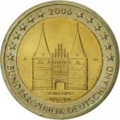 GERMANY - FEDERAL REPUBLIC, 2 Euro, 2006, AU(55-58), Bi-Metallic, KM:253
