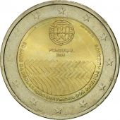 Portugal, 2 Euro, Human Rights, 2008, MS(63), Bi-Metallic, KM:784