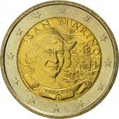 San Marino, 2 Euro, Christophe Colomb, 2006, MS(65-70), Bi-Metallic, KM:478