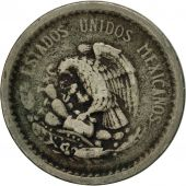 Mexico, 5 Centavos, 1940, Mexico City, VF(30-35), Copper-nickel, KM:423