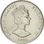 Îles Caïmans, Elizabeth II, 5 Cents, 1996, British Royal Mint, SUP+, Nickel