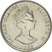 Îles Caïmans, Elizabeth II, 10 Cents, 1992, British Royal Mint, SUP+, Nickel