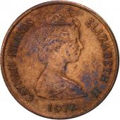 Îles Caïmans, Elizabeth II, Cent, 1972, British Royal Mint, TTB, Bronze, KM:1