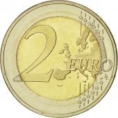 Estonia, 2 Euro, 10 ans de lEuro, 2012, MS(60-62), Bi-Metallic