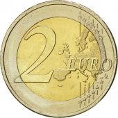 Greece, 2 Euro, 10 ans de lEuro, 2012, MS(60-62), Bi-Metallic