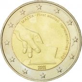 Malte, 2 Euro, First elected representatives, 2011, SUP, Bi-Metallic, KM:144