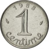 France, Épi, Centime, 1983, Paris, MS(63), Stainless Steel, KM:928, Gadoury:91
