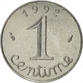 France, Épi, Centime, 1992, Paris, SPL, Stainless Steel, KM:928, Gadoury:91