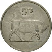 IRELAND REPUBLIC, 5 Pence, 1978, TTB, Copper-nickel, KM:22