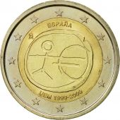 Spain, 2 Euro, EMU, 2009, AU(50-53), Bi-Metallic