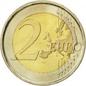 Spain, 2 Euro, Traité de Rome 50 ans, 2007, AU(55-58), Bi-Metallic