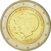 Netherlands, 2 Euro, 2013, MS(63), Bi-Metallic