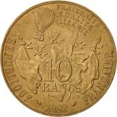 France, Gambetta, 10 Francs, 1982, Paris, TTB+, Nickel-Bronze, KM:950