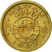 Macau, 5 Avos, 1967, TTB+, Nickel-brass, KM:1a