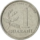 Paraguay, Guarani, 1988, SUP, Stainless Steel, KM:165