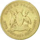 Uganda, 500 Shillings, 2003, Royal Canadian Mint, VF(30-35), Nickel-brass, KM:69
