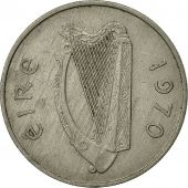 IRELAND REPUBLIC, 5 Pence, 1970, TTB, Copper-nickel, KM:22
