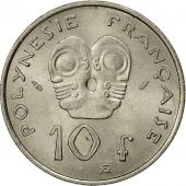 French Polynesia, 10 Francs, 1975, Paris, SUP, Nickel, KM:8