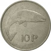 IRELAND REPUBLIC, 10 Pence, 1973, TTB, Copper-nickel, KM:23
