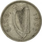 IRELAND REPUBLIC, Shilling, 1959, TTB, Copper-nickel, KM:14A