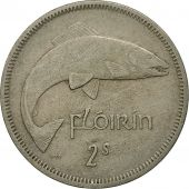 IRELAND REPUBLIC, Florin, 1964, TTB, Copper-nickel, KM:15a