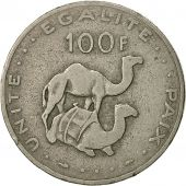 Djibouti, 100 Francs, 1991, Paris, TB+, Copper-nickel, KM:26