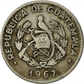 Guatemala, 10 Centavos, 1967, TTB, Copper-nickel, KM:267