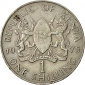 Kenya, Shilling, 1975, EF(40-45), Copper-nickel, KM:14