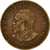 Kenya, 10 Cents, 1977, VF(30-35), Nickel-brass, KM:11
