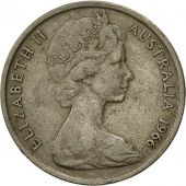 Australia, Elizabeth II, 10 Cents, 1966, EF(40-45), Copper-nickel, KM:65