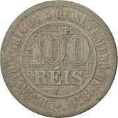 Brésil, 100 Reis, 1889, TB+, Copper-nickel, KM:492