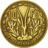 French West Africa, 10 Francs, 1956, Paris, TTB, Aluminum-Bronze, KM:6