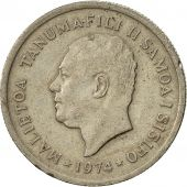 Samoa, 5 Sene, 1974, EF(40-45), Copper-nickel, KM:14