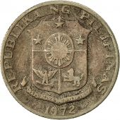 Philippines, 10 Sentimos, 1972, TB+, Copper-nickel, KM:198