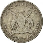 Uganda, 200 Shillings, 1998, Royal Canadian Mint, EF(40-45), Copper-nickel