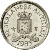 Netherlands Antilles, Juliana, 10 Cents, 1985, SUP, Nickel, KM:10