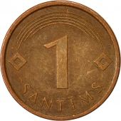 Latvia, Santims, 2007, EF(40-45), Copper Clad Steel, KM:15