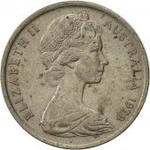 Australia, Elizabeth II, 5 Cents, 1970, EF(40-45), Copper-nickel, KM:64