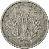 French West Africa, Franc, 1955, Paris, TTB, Aluminium, KM:3