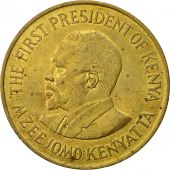 Kenya, 10 Cents, 1975, AU(50-53), Nickel-brass, KM:11