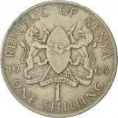 Kenya, Shilling, 1969, EF(40-45), Copper-nickel, KM:14