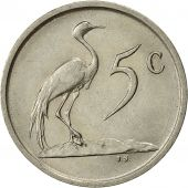 South Africa, 5 Cents, 1987, AU(55-58), Nickel, KM:84