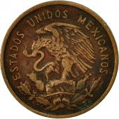 Mexico, 10 Centavos, 1956, Mexico City, VF(30-35), Bronze, KM:433