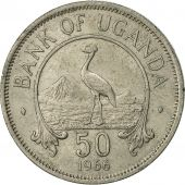 Uganda, 50 Cents, 1966, TTB, Copper-nickel, KM:4