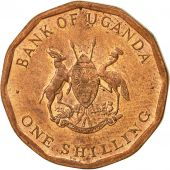 Uganda, Shilling, 1987, AU(50-53), Copper Plated Steel, KM:27